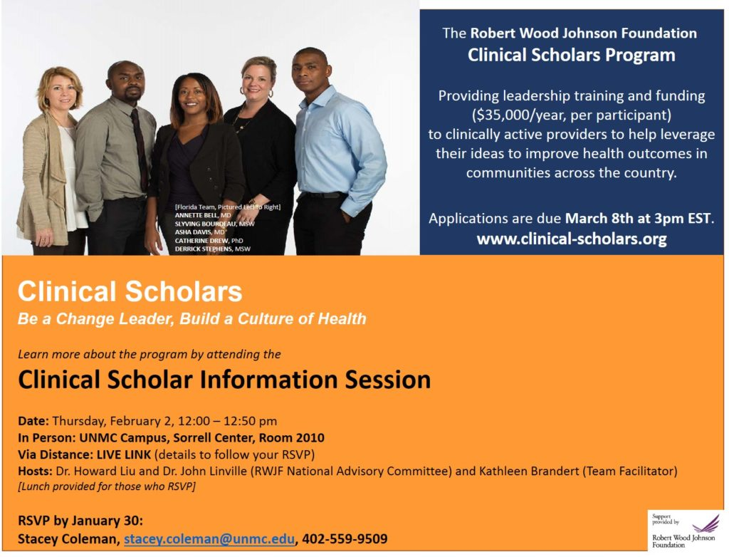 Clinical Scholars Info Session Feb 2017