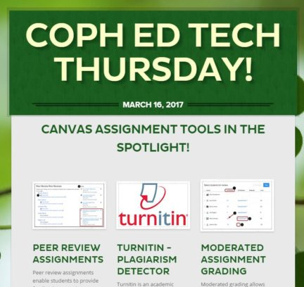 Ed Tech Thursday newsletter image