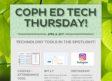 COPH ED Tech Thursday Newsletter