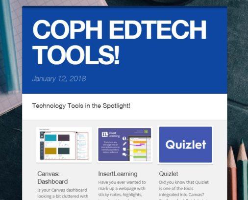 ED TECH newsletter image